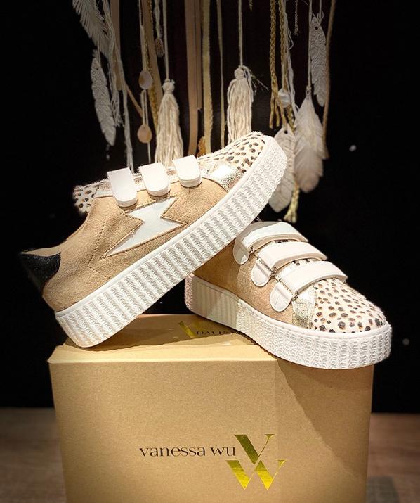 Sneakers leopard Vanessa Wu