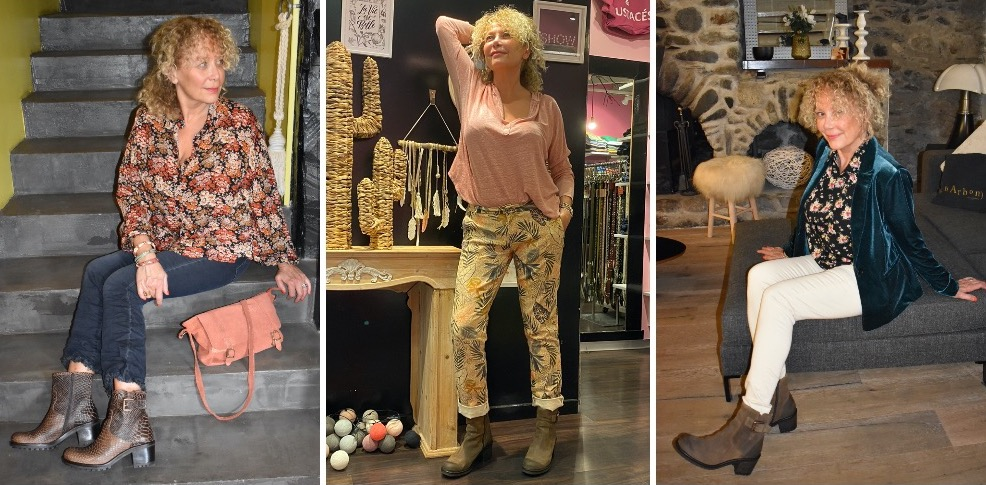 Association pantalons et boots